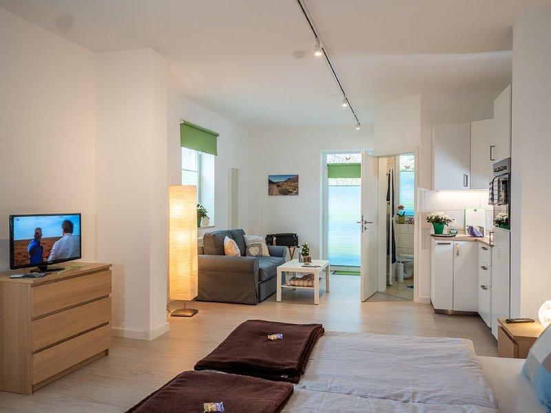 Appartement 13 avec terrasse en vue de la dépendance