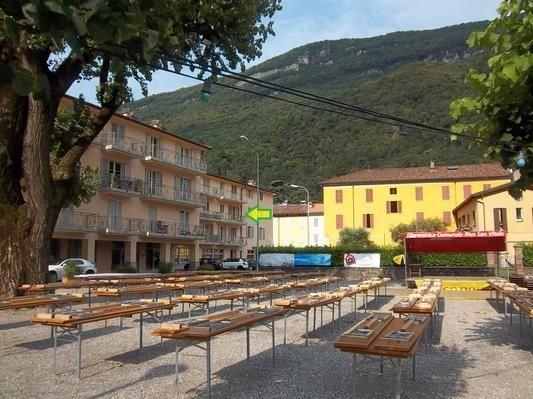 Ferienwohnung Riva S. Vitale für 2 - 4 Personen mit 1 Schlafzimmer - Ferienwohnu, casa vacanza a Riva San Vitale