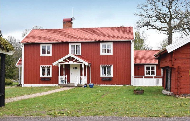 3 Zimmer Unterkunft in Nybro – semesterbostad i Kalmar