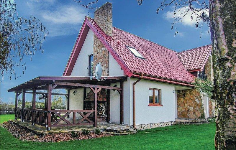 3 Zimmer Unterkunft in Jedwabno, location de vacances à Stawiguda