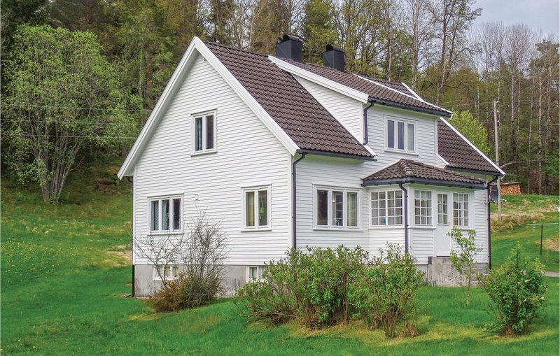 4 Zimmer Unterkunft in Hornes, holiday rental in Audnedal Municipality