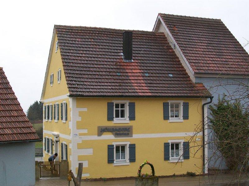 Großes Ferienhaus (110m2) mit Garten & Sonnenterrasse, location de vacances à Windelsbach