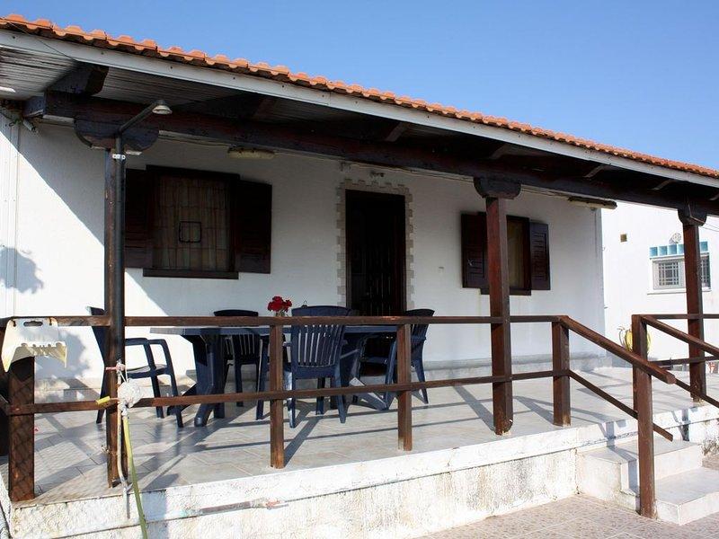 Gemütliches Ferienhaus am Meer, Terrasse, 6 Pers. | Ilia, Peloponnes, vacation rental in Katakolo