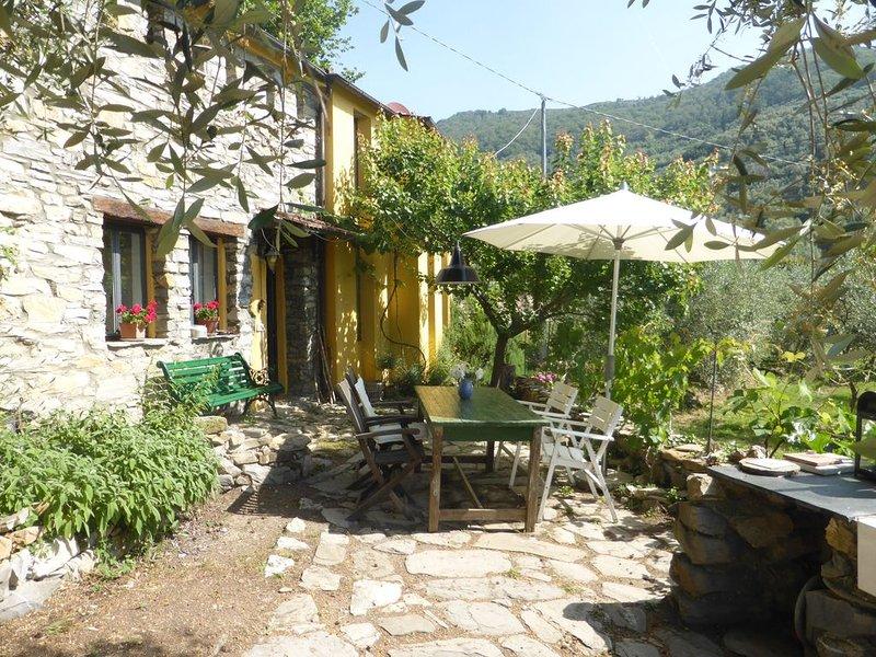 Ein freistehendes Künstlerhaus mitten im Olivenhain,, location de vacances à Caravonica