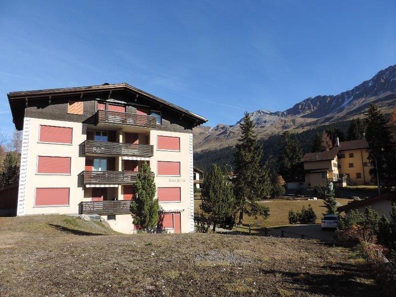 Ferienwohnung Casa Selva B, Valbella, location de vacances à Furstenau