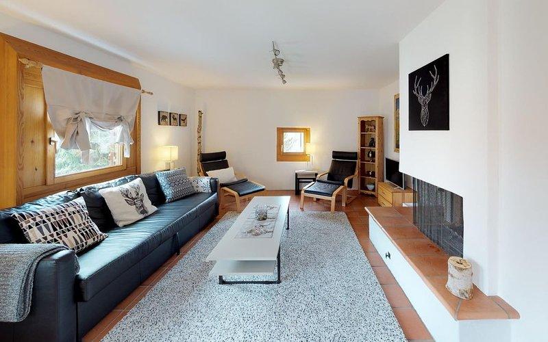 Die Gemütlichkeit und bequeme Erreichbarkeit ist bei dieser Wohnung garantiert, alquiler vacacional en St. Moritz