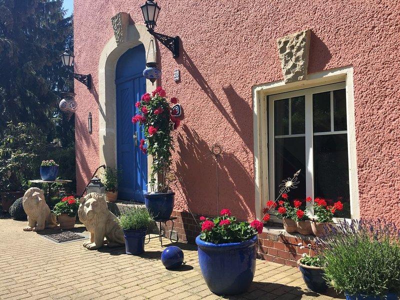 Sonnige Ferienwohnung mit Balkon, holiday rental in Klaistow