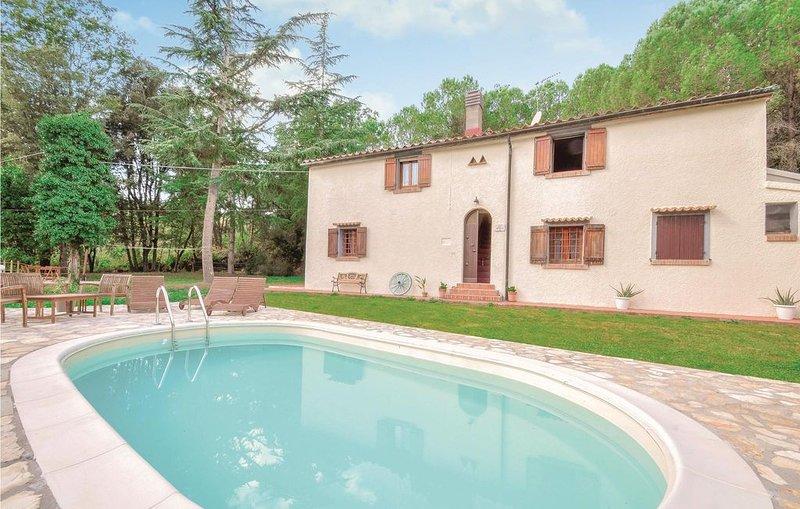 3 Zimmer Unterkunft in Suvereto -LI-, holiday rental in Sassetta