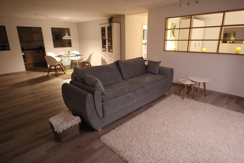 Apartment Heddesheim mit Gartenbereich, vacation rental in Schwetzingen