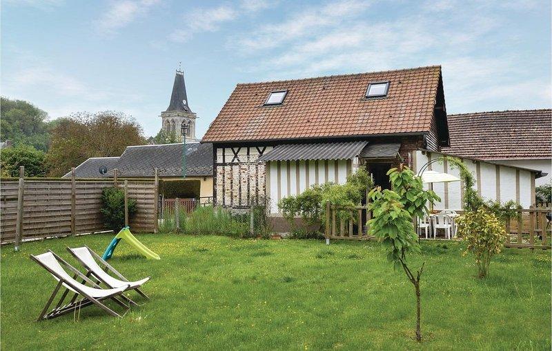 3 Zimmer Unterkunft in Le Bourg-Dun, holiday rental in Quiberville
