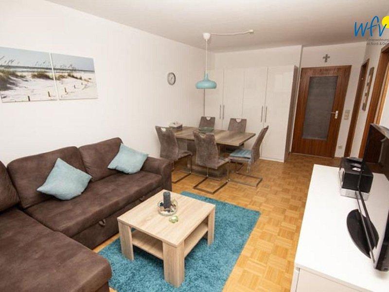 Moderne Ferienwohnung mit Balkon!, location de vacances à Borkum