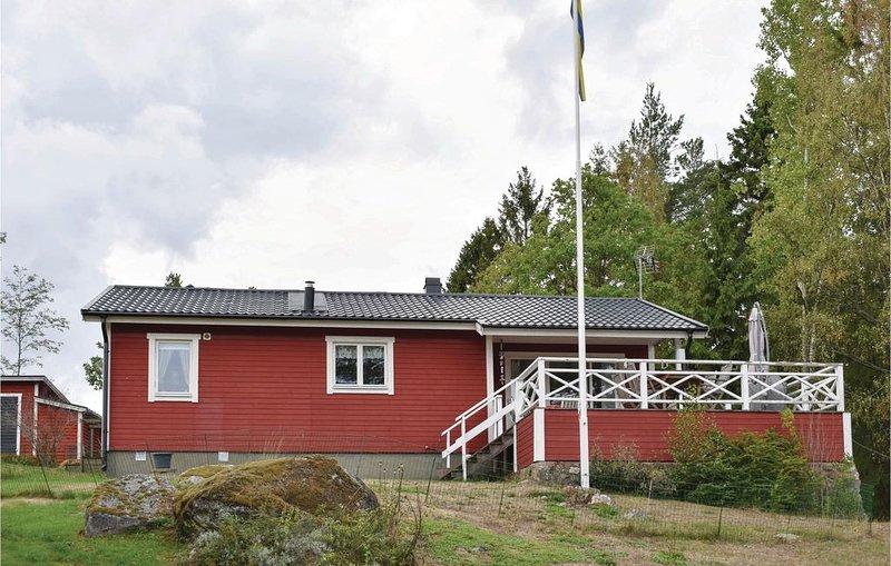 2 Zimmer Unterkunft in Vikbolandet, aluguéis de temporada em Arkosund