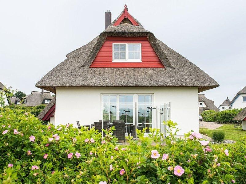 Ferienhaus Auszeit, Ostsee, Sauna, Kamin, Blick auf das Achterwasser, casa vacanza a Zinnowitz