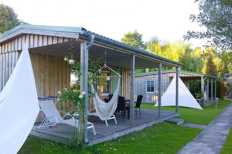 Ferienhäuser am Achterwasser, Lütow, location de vacances à Rubkow