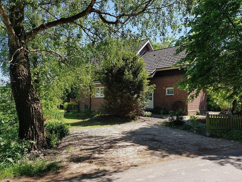 Haus am Ems-Jade-Kanal, aluguéis de temporada em Wiesmoor