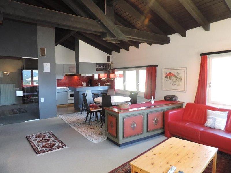 *** Ferienwohnung Tgiesa Arp, Valbella (Obergeschoss), vacation rental in Valbella