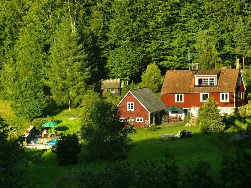 Haus mit Pool mitten in der Natur!, Ferienwohnung in Osby