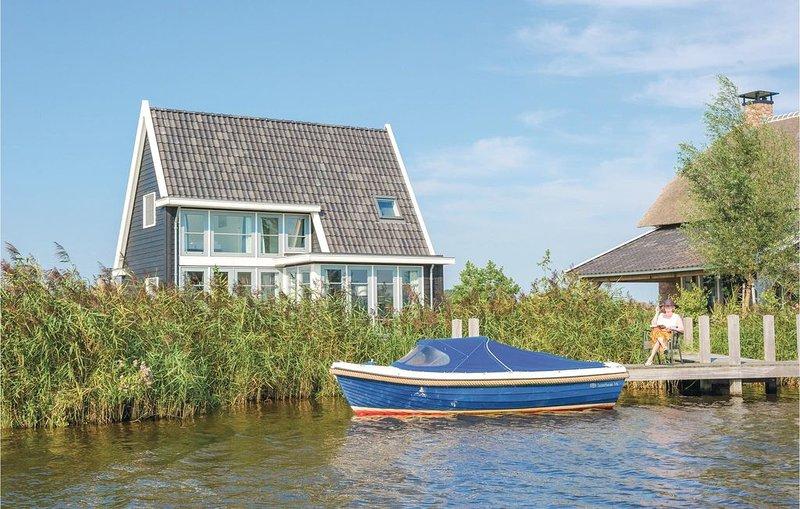 2 Zimmer Unterkunft in Giethoorn, casa vacanza a Wanneperveen