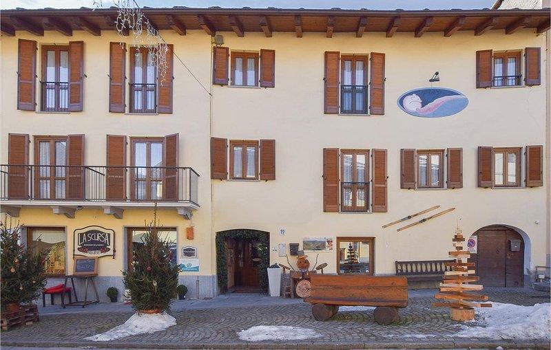 1 Zimmer Unterkunft in Bardonecchia (TO), vacation rental in Bardonecchia