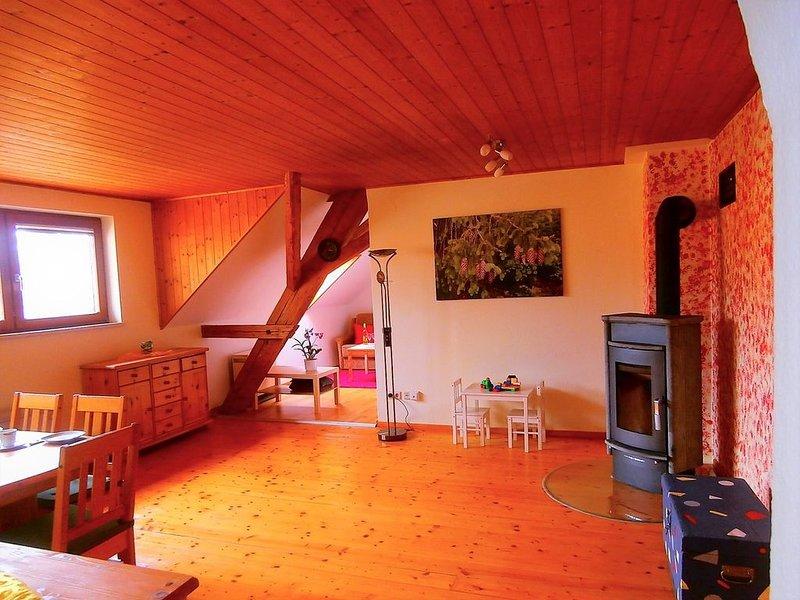 Hermanschau, 102qm, 2 Schlafzimmer, max. 5 Personen, vacation rental in Endingen