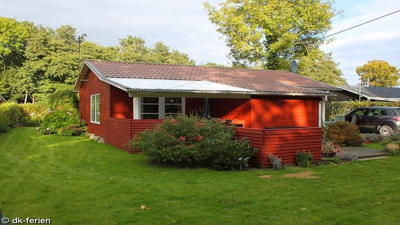 Romantisches kleines Holzhaus an der Ostsee in Sandersvig bei Christiansfeld, location de vacances à Hejls