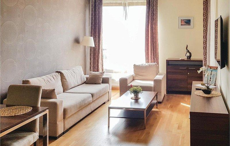 1 Zimmer Unterkunft in Kolobrzeg, location de vacances à Ustronie Morskie