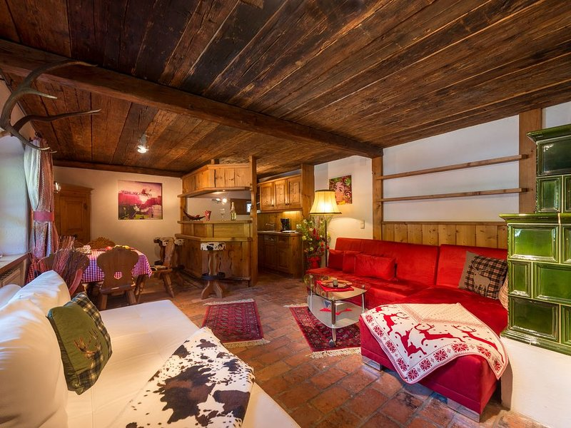 Luxus Apartment E direkt neben der Skipiste, location de vacances à Maria Alm