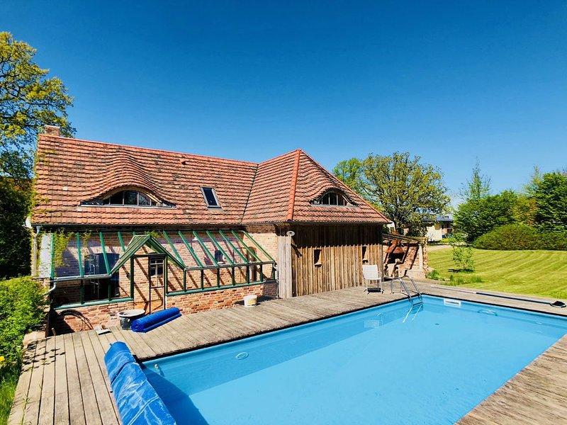 Das besondere Ferienhaus auf Usedom, location de vacances à Rubkow