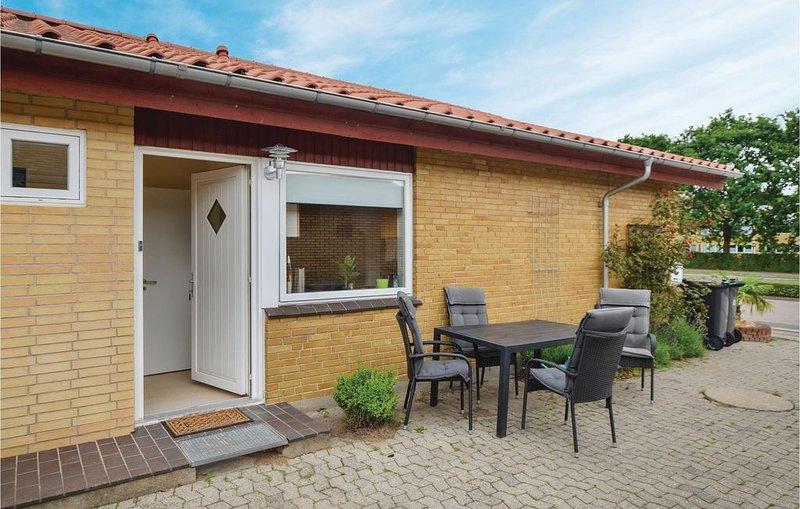 1 Zimmer Unterkunft in Sønderborg, location de vacances à Horuphav