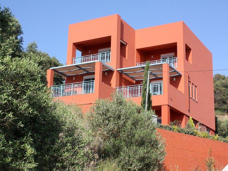 Ferienhaus in idyllischer Umgebung nahe zum Strand, Meerblick, Wifi | Plakias, K, holiday rental in Mariou