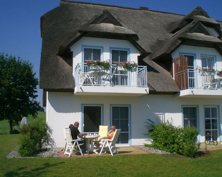 Residenz Wolgastsee in der Ferienanlage des Golf-und Wellnesshotels 'Balmer See', holiday rental in Usedom