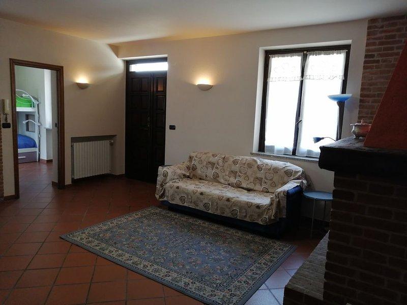 Serendipity  per  vacanze rilassanti nel parco del Monferrato, alquiler vacacional en Frinco