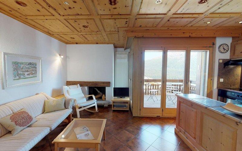 Spektakuläre Aussicht über St. Moritz, location de vacances à Engadin St. Moritz