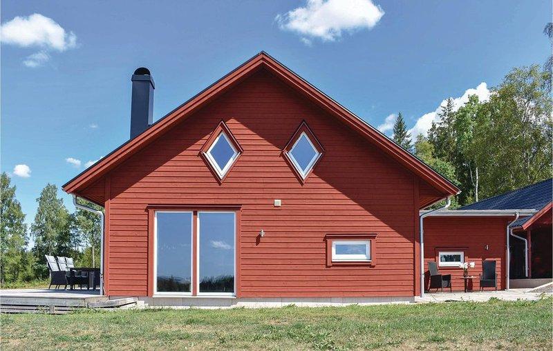 3 Zimmer Unterkunft in Skillingaryd, alquiler de vacaciones en Komstad