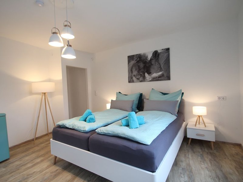 Moderne, helle 1 Zimmer-Wohnung in Citylage, vacation rental in Hayingen