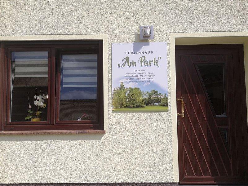 Ein Ferienhaus / Ferienwohnung mal ganz anders - mit Sauna im Wohnbereich., holiday rental in Trossin