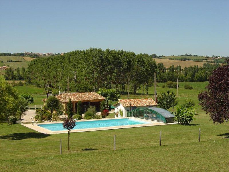 Ferien auf unserem Landgut, location de vacances à Rieux-Volvestre