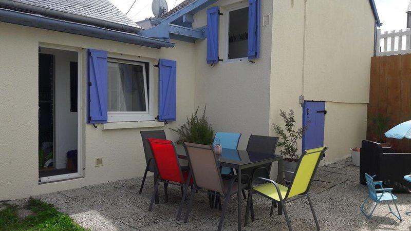 Charmante maison avec jardin, location de vacances à Deauville