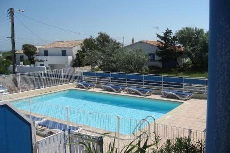 Appartement  La COTINIERE - St Pierre d'Oléron, piscine ,vue mer, 3***, location de vacances à Saint-Pierre-d'Oléron
