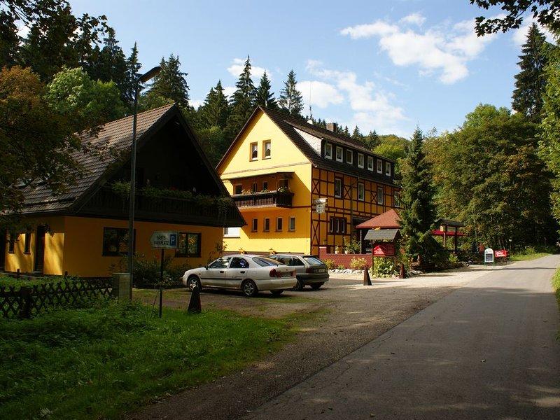 Großes Gruppenhaus mitten in der Natur, location de vacances à Walkenried
