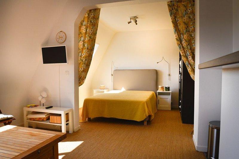 Charmant appartement à 200m de la plage Deauville, casa vacanza a Calvados