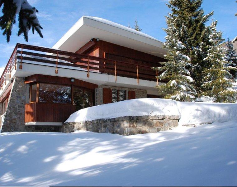 Appart 10 pers 150 m2 dans chalet avec jardin près des pistes, location de vacances à Orcières