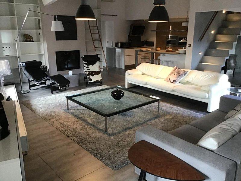 Superbe appartement avec jaccuzzi extérieur, alquiler vacacional en L'Isle-sur-la-Sorgue