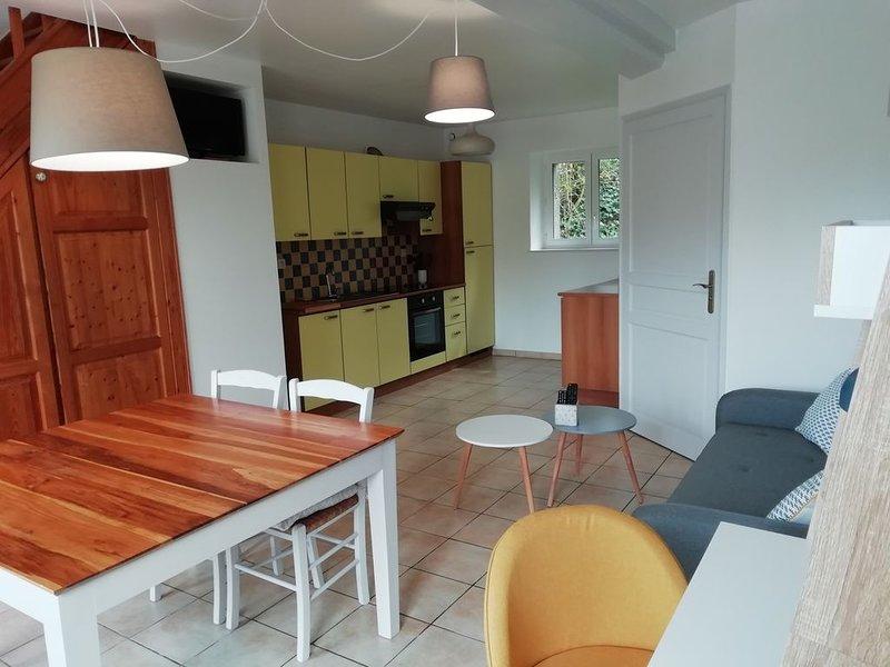 Gîte Le Moulin - Au cœur de notre campagne Normande, holiday rental in Cahagnes