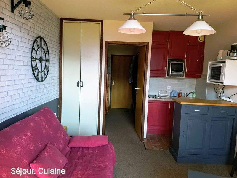 studio LA PLAGNE MONTALBERT, alquiler vacacional en Montalbert