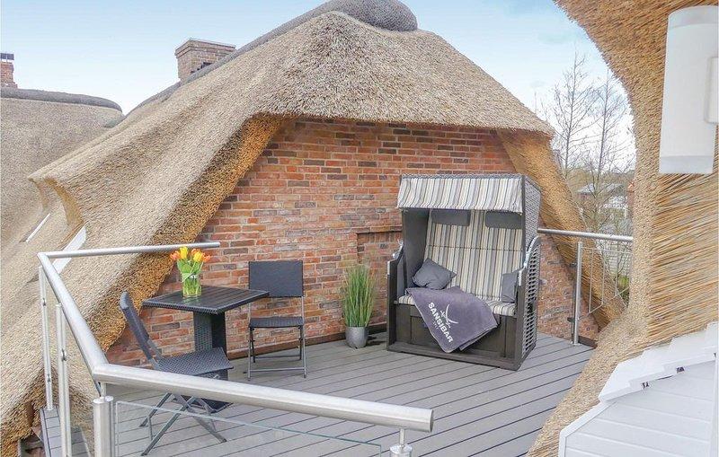1 Zimmer Unterkunft in Klanxbüll, holiday rental in Rodenas
