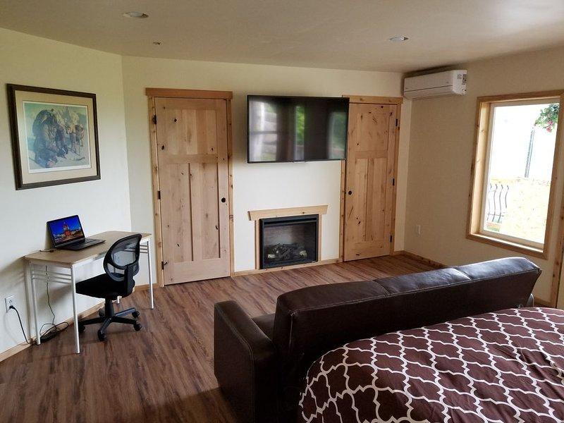 Fort Wrangell, Orca Room, alquiler de vacaciones en Wrangell