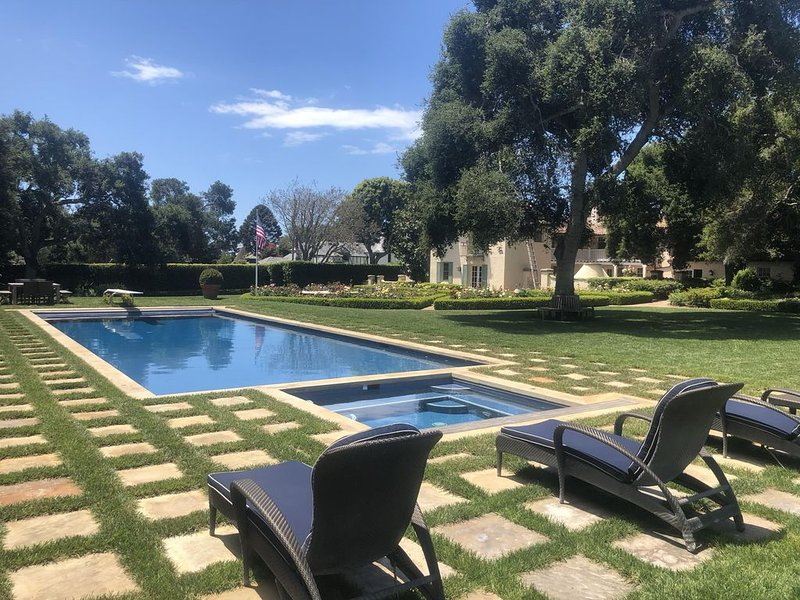 Montecito Estate Guest House Minutes from Beach, holiday rental in Montecito