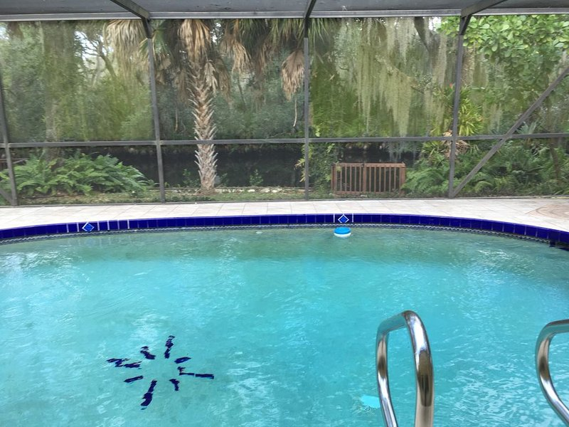 Waterfront Villa Manatee on Warm Mineral Springs *Pool *Deck, vacation rental in North Port