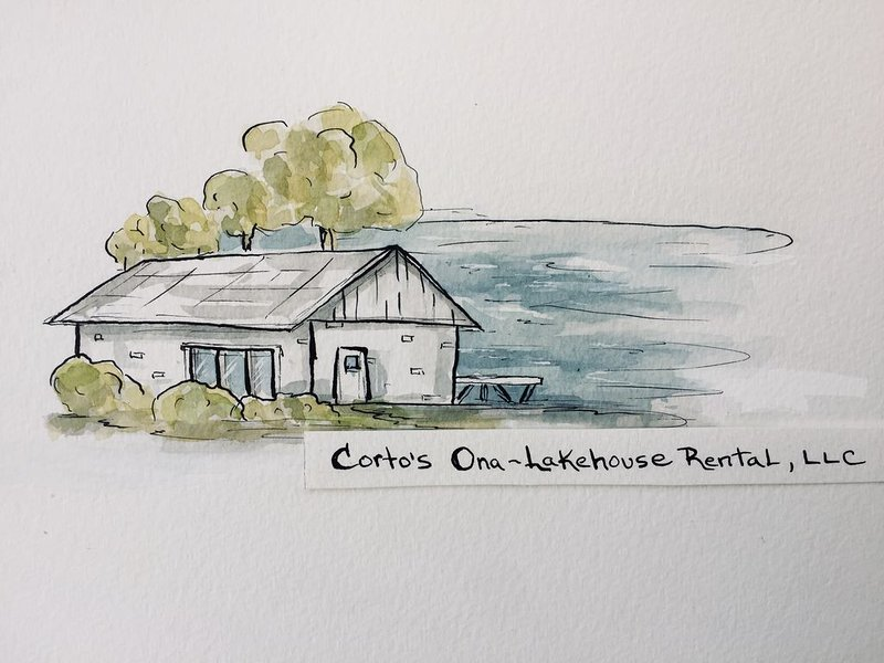 Corto's Ona-Lakehouse Rental, LLC is a Lakefront Vacation Rental Home, holiday rental in La Crosse